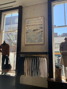 Seascape at Billy Reid store